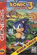 Sonic the Hedgehog 3 (Sega Genesis, 1994) VINTAGE GAMES