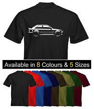 *NEW* Mens Premium T-Shirt Ford Escort Mk3 XR3 RS Colour Options UK Seller