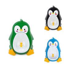 Baby Boy Potty Toilet Training Penguin Bambini Stand Orinatoio Verticale Ra E2H9