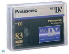 Panasonic Mini DV Tape AY-DVM83PQ Professional Quality 83min - UK NEW Genuine