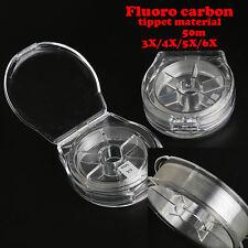 50m Fluorcarbon Tippet 3x-6x