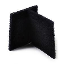 2/8X Black activated carbon filtration Foam Sponge Air Filter Pad Square 13X13cm