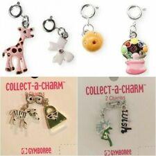 New GYMBOREE Collect-a-Charm Bracelet Zebra Gumball Bubble Dandelion Charms NWT
