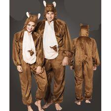 Känguru Plüsch Kostüm - Overall Damen Herren Jumpsuit Junggesellenabschied