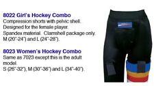 Women's & Girls Pro Guard Hockey Combo Cup Short Garter
