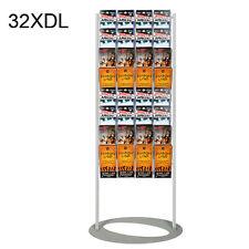 32XDL Brochure Stand/ Floor Brochure Holder/ Free Standing Lobby Leaflet Display