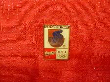 Olympics Rings USA Pin Cycling Coca Cola Sponsor
