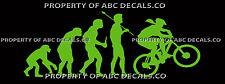 VRS EVOLUTION CYCLING MOUNTAIN BIKE Girl Helmet VINYL CAR DECAL WALL STICKER