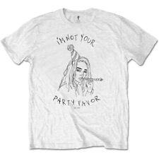 White Billie Eilish Party Favour Official Tee T-Shirt Mens