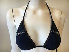 Nwt womens True Religion Jeanius Triangle Bikini Swim Top  Size XS, M