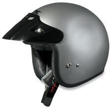 AFX FX-75 Youth ATV Dirt MX Helmet SILVER SHIPS FREE