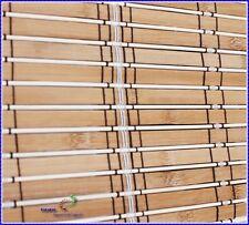 Bambus Rollo Raffrollo Faltbehang Sonnenschutz
