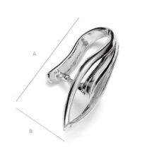 Alta Calidad Pellizco Fianza Colgante de plata esterlina 925 lo mejor para cristales de Swarovski