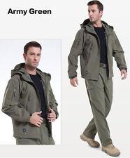 Men High-end Waterproof Tactical Stealth Hoodie Soft jacket TAD Sharkskin Jacket
