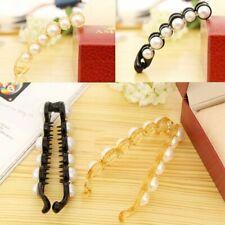 Jewelry Headwear Crystal Hairpin Women Hairpins Banana Clips Hair Accessories