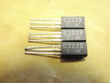 TRANSISTOR 2SC2229 NPN 200V VID 0,05A >50M 3x 18409-134