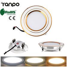 LED Recessed Ceiling Lights Flat Panel Down Light Lamp 3W 5W 7W 9W AC 85-265V HL