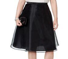 8954c60ca4258 Free shipping. Style  A-LineLength  Knee-Length. MSK Women s Plus Size  Chiffon A-Line Skirt Black