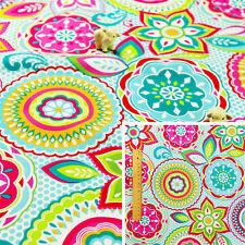 BLUE Fat Quarter/Meter 100%Cotton Fabric FQ Quilt Sew Floral Ditsy Petite Flower