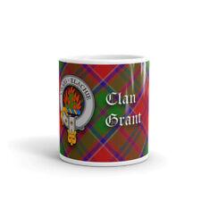 Grant Clan Crest Coffee / Tea Mug - Scottish Cup 10oz / 295ml