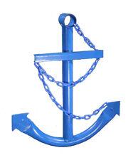 Ship's Anchor Wall Art Garden Decor 2' SIX COLORS Metal Nautical Decor Made USA