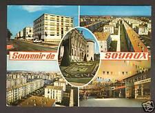 SOYAUX (16) PEUGEOT 403 à la Cité HLM & COMMERCES
