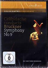 DVD Sergiu CELIBIDACHE: BRUCKNER Symphony No.9 RAI 1969 Turin Recording Sinfonie