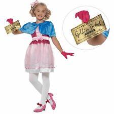 Bambine Ufficiale Roald Dahl VERUCA SALT Costume Libro Settimana Giorno Costume NUOVO