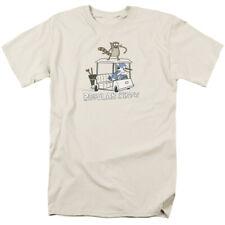 Regular Show Golf Cart Licensed Adult T Shirt