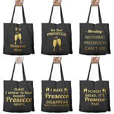 FUNNY PROSECCO bere SHOPPING SHOPPER TOTE shopping Bag for Life * 6 Modelli *