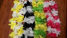 1 Hawaiian Flower lei leis Necklace Beach Hula Party Fancy Dress
