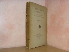 Saint Louis et Innocent IV par Berger Saint-siège royauté et papauté 1893 envoi
