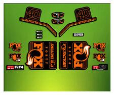 PEGATINAS HORQUILLA FORK FACTORY FOX 40 ELX11 STICKERS AUFKLEBER AUTOCOLLANT ADE