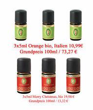 (EUR3,90-30,00/St) PRIMAVERA Weihnachts+Winter Ätherische Öle, natürliche