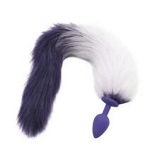 Silicon-Butt-Plug-Sex-Inert -Ass-long-Anal Stimulate_fox's tail_Beginner Love