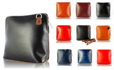 Donna Vintage 100% Genuine Leather Small Crossbody Borsa a Tracolla Borsa Italiana