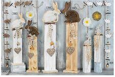 """Hoff Interieur deko-säule """"Happy Conejo"""" Conejo madera - Diferentes tamaños y"""