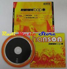 CD Singolo HANSON MMMBOP 1997 MERCURY USA 314 574 260-2 no mc lp dvd  (S2)