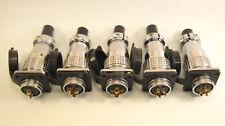 Tp20 AVIAZIONE Multipolare Connettore 250 Volt 7-15a Oro Placcato Contatti 2 a 6 Pin