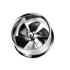 Stahl Flesh Tunnel Propeller Plug Ohr Piercing Schmuck Turbine Top Qualität