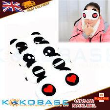 Cute Soft Panda Sleeping Eye Mask Adult Kids Face Cover Blindfold Comfortable UK