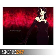Anime Girl 115 (3207) Anime Poster-Photo Poster print ART A0 A1 A2 A3 A4