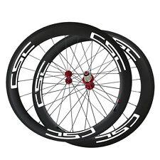 CSC wheelset T800 60mm Clincher carbon road wheels R13 hub Basalt Brake Track