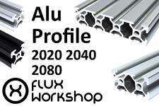 Aluminium Extrusion 2020 40 80 T Slot Frame CNC 3D Printer Flux Workshop