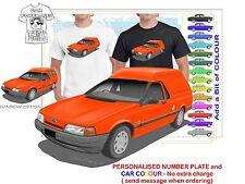 CLASSIC 88-91 EA FALCON VAN ILLUSTRATED T-SHIRT MUSCLE RETRO SPORT CAR