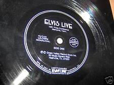ELVIS PRESLEY-LIVE 1961 PRESS CONFERENCE FLEXI rock 33