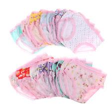 Mode mignon bébé filles culottes en coton lingerie slips enfants tissu