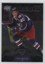2007 Upper Deck Black Diamond #161 Jared Boll Columbus Blue Jackets Hockey Card