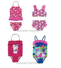 HELLO KITTY 2T 3T 4T 5T Girls Swimsuit SWIM BATHING SUIT One-Piece Two-Piece