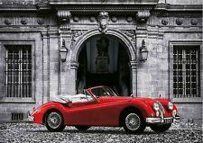 Gasoline images: LUXURY CAR bastidor de cuña - Imagen ÉPOCA Jaguar Rojo Coche
